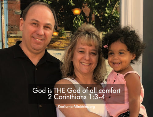 2 Corinthians 1:3-4 – God Gives Comfort